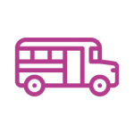 Icon image of a bus