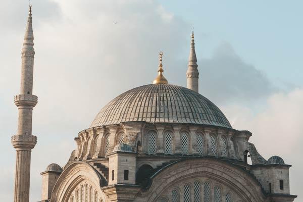 Ancient Turkish Mosque